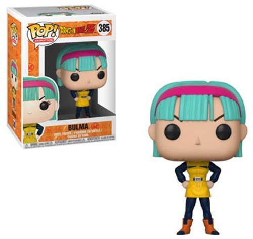 Funko Dragon Ball Z POP! Animation Bulma Vinyl Figure #385 [YW, Damaged Package]