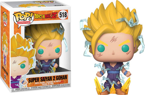 Funko Dragon Ball Z POP! Animation Super Saiyan 2 Gohan Exclusive Vinyl Figure #518