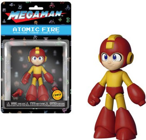 Funko Mega Man Action Figure [Atomic Fire, Chase Version]