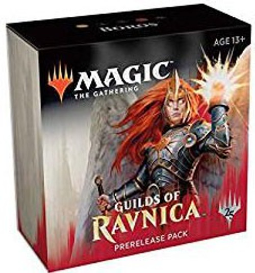 MtG Trading Card Game Guilds of Ravnica Boros Pre-Release Kit [5 Booster Packs & 1 Guild Pack]