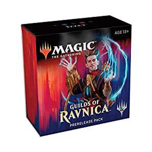 MtG Trading Card Game Guilds of Ravnica Izzet Pre-Release Kit [5 packs & 1 Guild Pack]