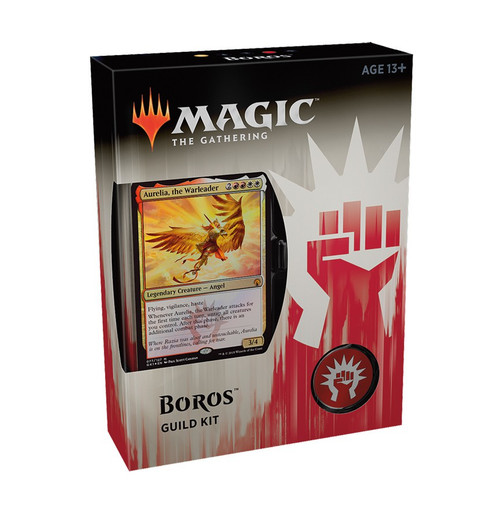 MtG Guilds of Ravnica Boros Guild Kit [60 card deck - Alternate Art Aurelia, the Warleader]