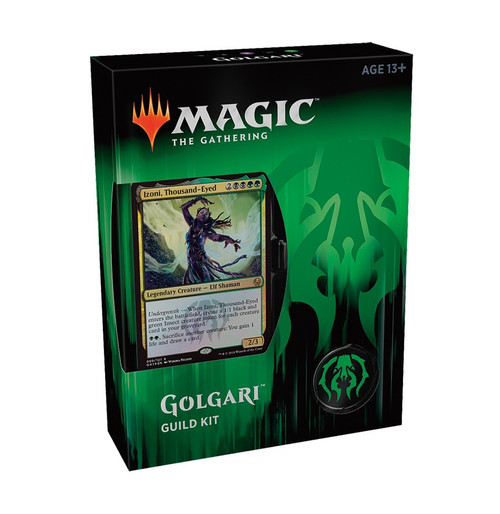 MtG Guilds of Ravnica Golgari Guild Kit [60 card deck - Alternate Art Izoni, Thousand-Eyed]