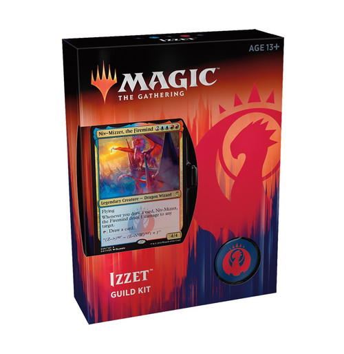 MtG Guilds of Ravnica Izzet Guild Kit [60 card deck - Alternate Art Niv-Mizzet, the Firemind]