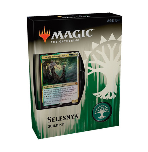 MtG Guilds of Ravnica Selesnya Guild Kit [60 card deck - Alternate Art Trostani, Selesnya's Voice]