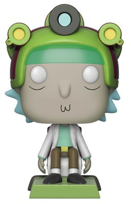 Funko Rick & Morty POP! Animation Rick with Game Helmet Exclusive Vinyl Figure #416 [Damaged Package]