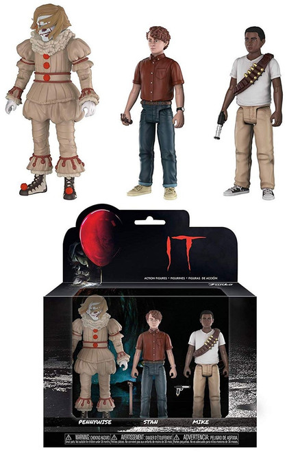 Funko IT Movie (2017) Pennywise, Stanley & Mike Action Figure 3-Pack