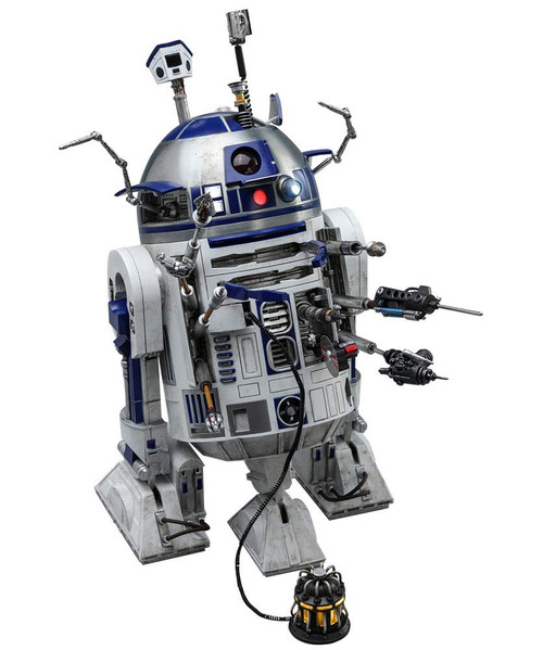 Star Wars Movie Masterpiece R2-D2 Collectible Figure [Deluxe Version]
