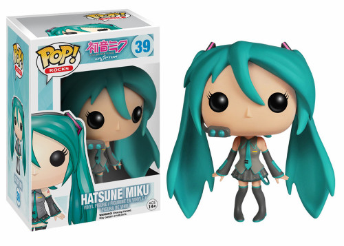 Funko Vocaloid POP! Rocks Hatsune Miku Vinyl Figure #39