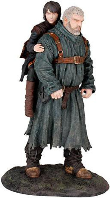 Game of Thrones Hodor & Bran Stark 9-Inch PVC Statue Figure [Damaged Package]