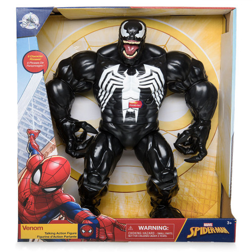 Disney Marvel Spider-Man Venom Exclusive Talking Action Figure [RANDOM Package]