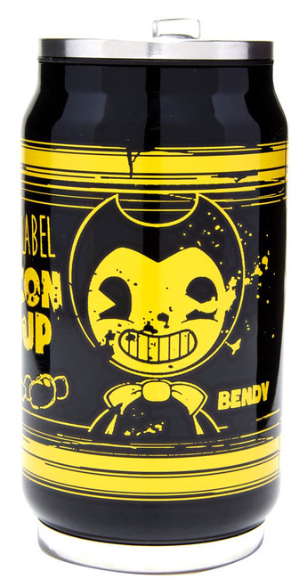 Bendy and the Ink Machine Briar Label Bacon Soup Exclusive Travel Can
