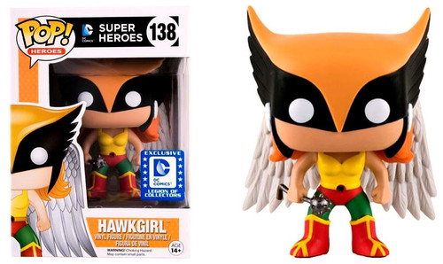 Funko DC POP! Heroes Hawkgirl Exclusive Vinyl Figure #138 [Legion of Collectors]