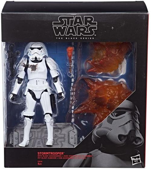 Star Wars Black Series Stormtrooper Exclusive Action Figure [with Blast Accessories]