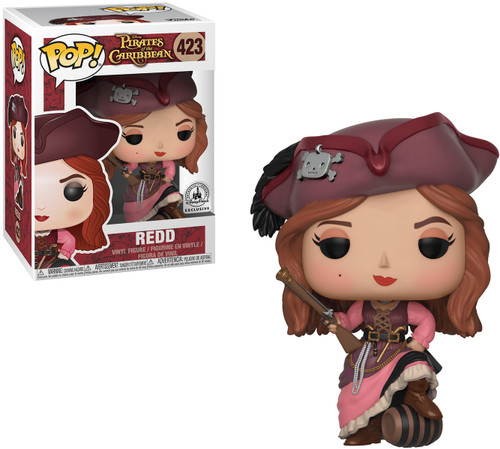 Funko Pirates of the Caribbean POP! Disney Redd Exclusive Vinyl Figure #423