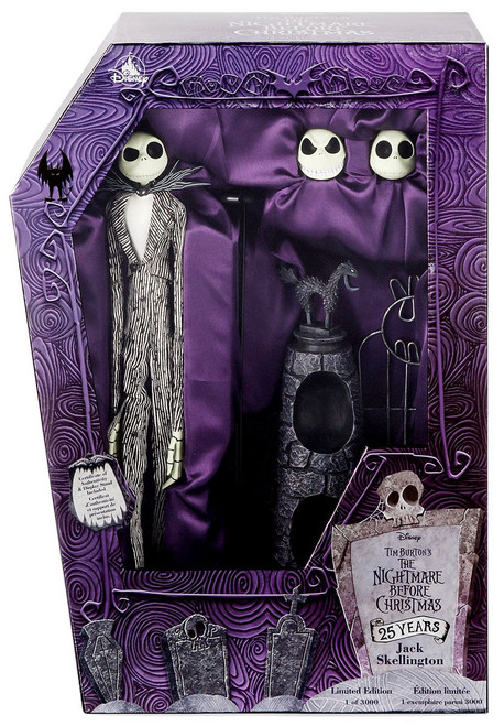 Disney Nightmare Before Christmas 25th Anniversary Jack Skellington Exclusive 16-Inch Doll [Limited Edition]