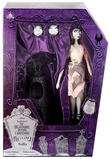 Disney Nightmare Before Christmas 25th Anniversary Sally Exclusive 16-Inch Doll [Limited Edition]