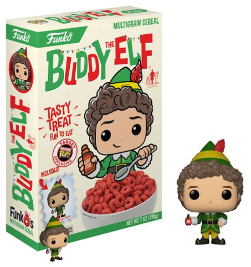 FunkO's Buddy the Elf Exclusive Breakfast Cereal