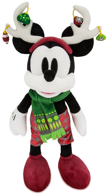 Disney 2018 Holiday Mickey Mouse Nordic Winter Exclusive 15-Inch Plush