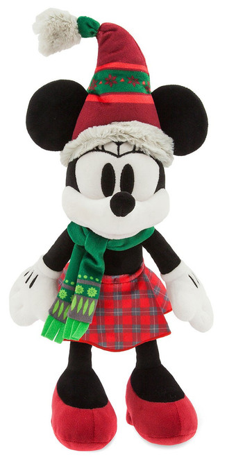 Disney 2018 Holiday Minnie Mouse Nordic Winter Exclusive 15-Inch Plush