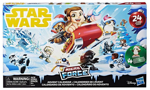 Star Wars Micro Force Advent Calendar [2018]
