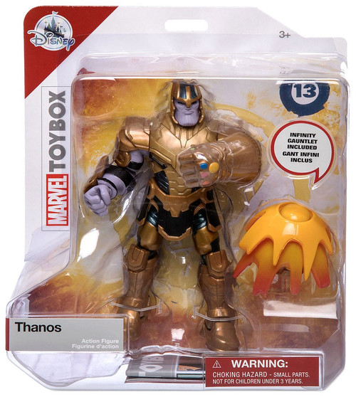 Disney Marvel Toybox Thanos Exclusive Action Figure