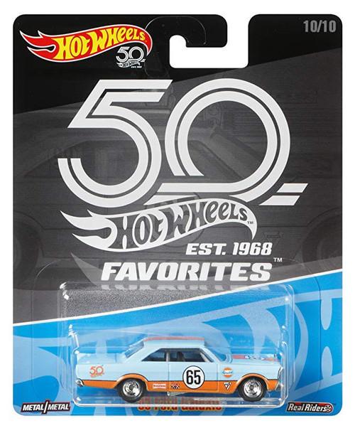 Hot Wheels 50th Anniversary Favorites '65 Ford Galaxie Diecast Car #10/10