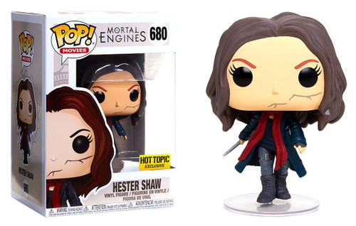 Funko Mortal Engines POP! Movies Hester Shaw Exclusive Vinyl Figure #680 [Unmasked]