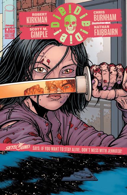 Image Comics Die Die Die #4 Comic Book