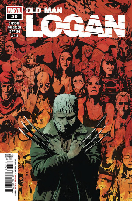 Marvel Comics Old Man Logan #50 Comic Book