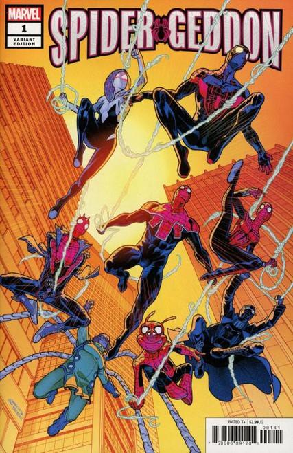 Marvel Comics Spider-Geddon #1 Comic Book [Javi Garron Variant Cover]