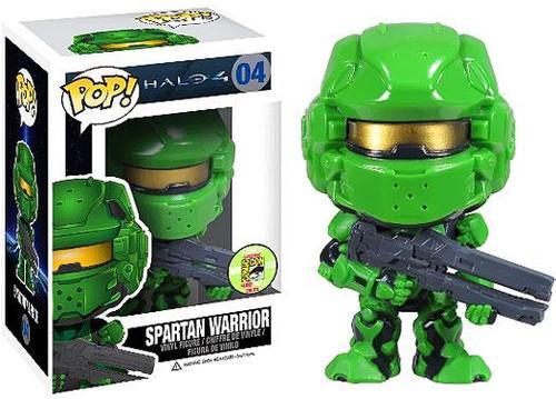 Funko Halo 4 POP! Halo Spartan Warrior Exclusive Vinyl Figure #04 [Green]