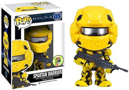 Funko Halo 4 POP! Halo Spartan Warrior Exclusive Vinyl Figure #05 [Yellow]