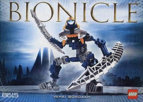 LEGO Bionicle Vahki Bordakh Set #8615