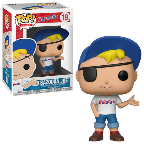 Funko POP! Ad Icons Bazooka Joe Exclusive Vinyl Figure #19 [Damaged Package]