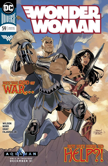 DC Wonder Woman #59 Comic Book