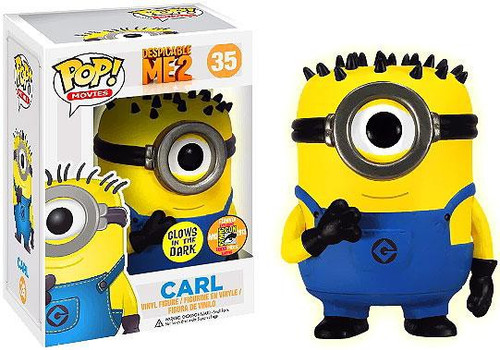 Funko Despicable Me 2 POP! Movies Carl Exclusive Vinyl Figure #35 [Glow in the Dark, Damaged Package]
