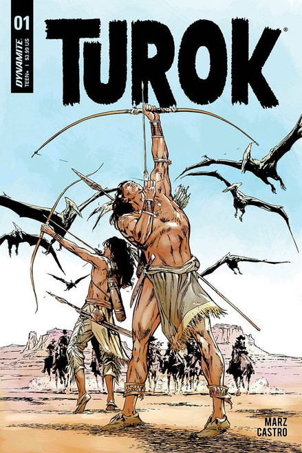 Dynamite Entertainment Turok #1 Comic Book [Butch Guice Cover B]