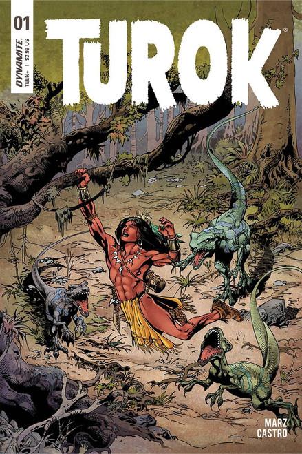 Dynamite Entertainment Turok #1 Comic Book [Roberto Castro Cover D]