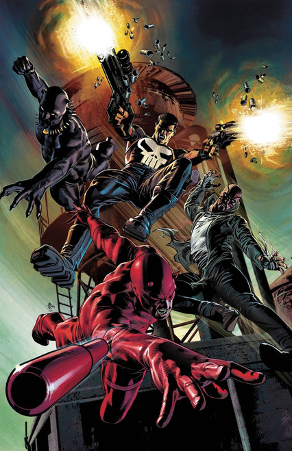 Marvel Comics Marvel Knights #1 of 6 Comic Book [Mike Deodato Teaser Variant Cover]