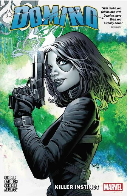Marvel Comics Domino Killer Instinct Trade Paperback Comic Book Volume 1