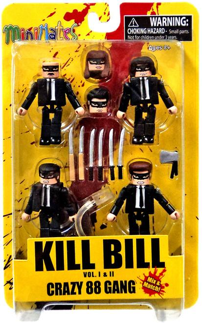 Kill Bill Minimates Crazy 88 Minifigure Set