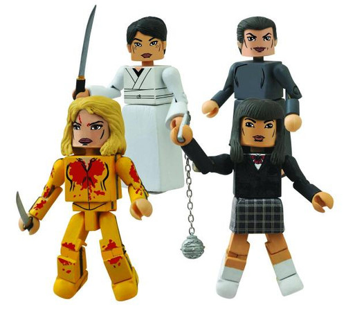 Kill Bill Minimates House of Leaves Minifigures [10th Anniversary]