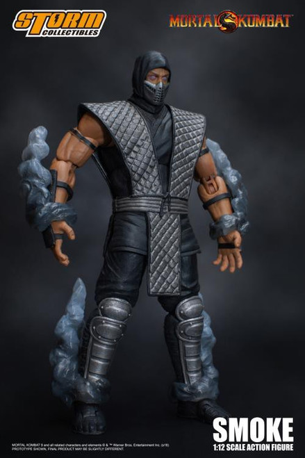 Mortal Kombat Smoke Exclusive Action Figure