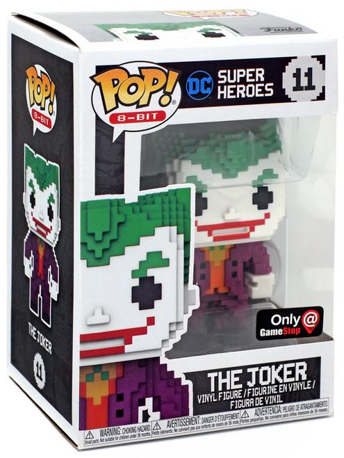 Funko DC Super Heroes POP! 8-Bit The Joker Exclusive Vinyl Figure #11 [Metallic]