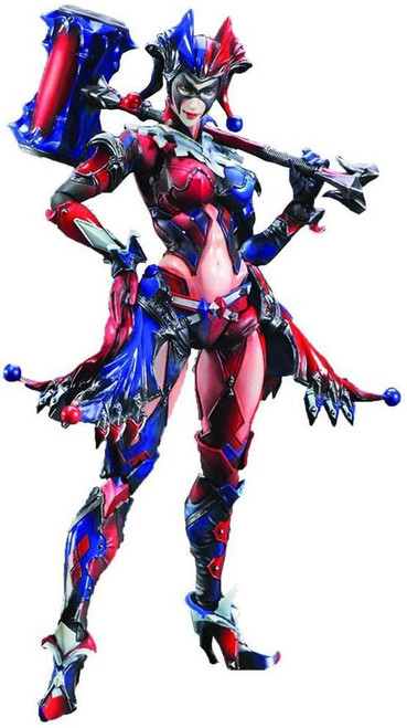 DC Play Arts Kai Variant Harley Quinn Action Figure #13