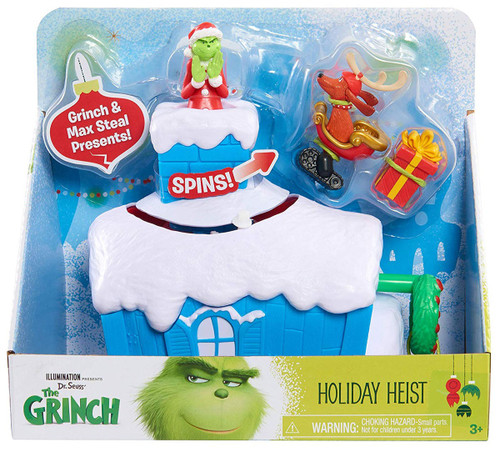 Dr. Seuss The Grinch Holiday Heist 6-Inch Playset