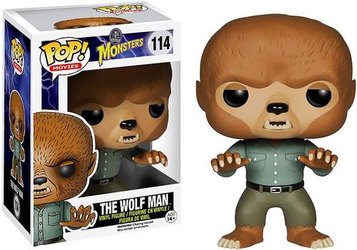 Funko Universal Monsters POP! Movies Wolfman Vinyl Figure #114 [Damaged Package]