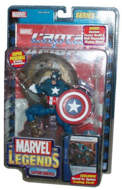 Marvel Legends Series 8 Captain America Action Figure [Classic Variant]