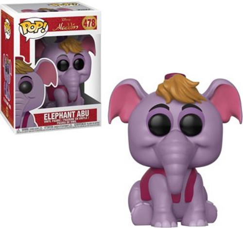 Funko Aladdin POP! Disney Elephant Abu Vinyl Figure #478 [Animated]
